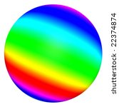 3d multicolored sphere isolated