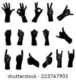 vector illustrations of... | Shutterstock .eps vector #223767901