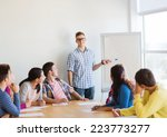 education  teamwork and people... | Shutterstock . vector #223773277