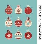 Cute Christmas Balls Set....