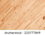 Wood Plank Wall With Diagonal...