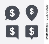 dollars sign icon. usd currency ... | Shutterstock . vector #223789039