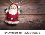 Hand Made Felt Santa Claus...