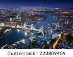 London Night Urban Architectures Tower - Fine Art prints