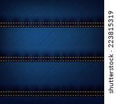 dark jeans stripe pattern | Shutterstock .eps vector #223815319