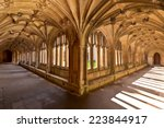 Lacock Abbey Interior Cloister...