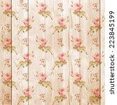 digital paper for scrapbook... | Shutterstock . vector #223845199