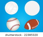 vector illustration of balls ... | Shutterstock .eps vector #22385320
