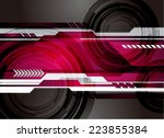 abstract technology background... | Shutterstock .eps vector #223855384