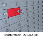 3d illustration of deposit...   Shutterstock . vector #223866781