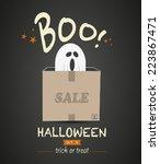 Halloween Sale Ghost