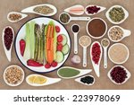 large weight loss diet health... | Shutterstock . vector #223978069