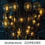 lighting decor | Shutterstock . vector #223981585