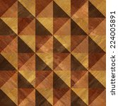 decorative wooden pattern  ... | Shutterstock . vector #224005891