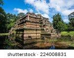 phimeanakas or vimeanakas  at... | Shutterstock . vector #224008831