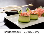 Gunkan Maki In Cucumber
