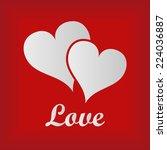 love hearts   Shutterstock .eps vector #224036887