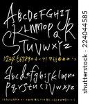alphabet | Shutterstock .eps vector #224044585