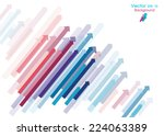 arrows background   abstract... | Shutterstock .eps vector #224063389