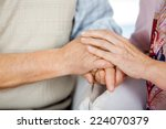 cropped image of senior couple... | Shutterstock . vector #224070379