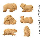 Animal Crackers Isolated With ...