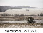 early winter landscape in russia | Shutterstock . vector #22412941