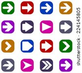 arrow sign | Shutterstock . vector #224145805