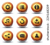 road sign icons and buttons for ...