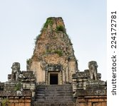 pre rup  a temple at angkor ... | Shutterstock . vector #224172781