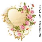 vector illustration   frame in... | Shutterstock .eps vector #22419361