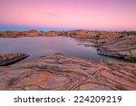 Sunset At Willow Lake Prescott...