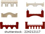 Red And White Brick Bridge Arch ...