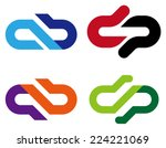 "abstract vector logo template. ""... 