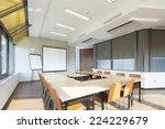 interior of a modern bright...   Shutterstock . vector #224229679