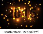 2015 bokeh | Shutterstock .eps vector #224230594