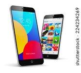 mobile phone wireless... | Shutterstock . vector #224234269