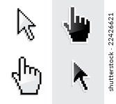 cursor. vector. | Shutterstock .eps vector #22426621