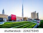 dubai  uae   october 14  main... | Shutterstock . vector #224275345