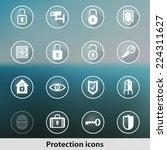 modern transparent protection...