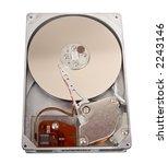 opened hard drive | Shutterstock . vector #2243146