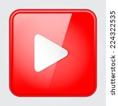 red play button | Shutterstock .eps vector #224322535