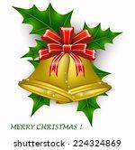 christmas bells | Shutterstock .eps vector #224324869