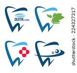 vector collection of healthy... | Shutterstock .eps vector #224327317