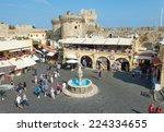 Rhodes  Greece   October 14 ...