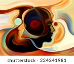 colors of the mind series.... | Shutterstock . vector #224341981