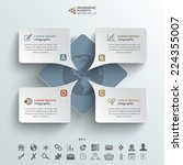 abstract vector infographic...   Shutterstock .eps vector #224355007
