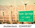 Palm Springs City Limits...