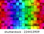 Colorful Blocks Abstract...