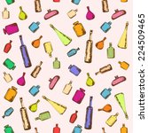 bottles background. collection... | Shutterstock . vector #224509465