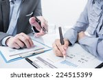 business people discussing... | Shutterstock . vector #224515399